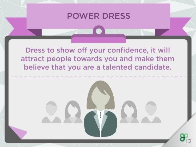 IQ Work Hacks - Power Dressing (For Women) Slide 3