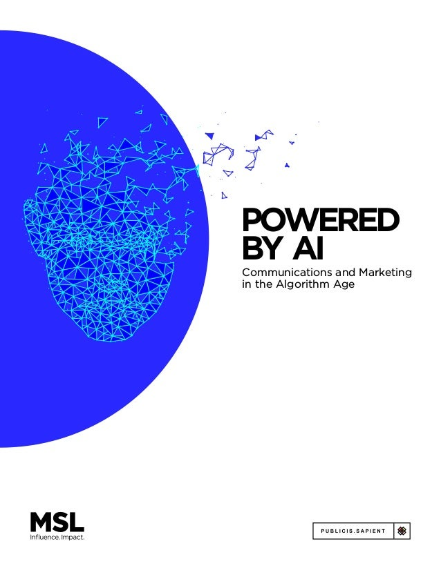 Powered by AI: Communications and Marketing in the Algorithm Age