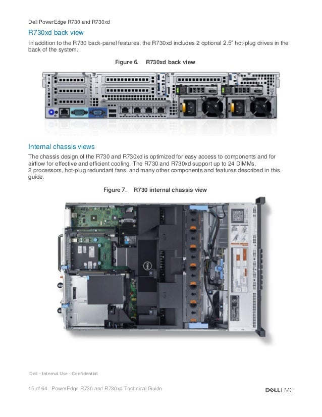 Dell-EMC PowerEdge R730 and R730xd Technical Guide