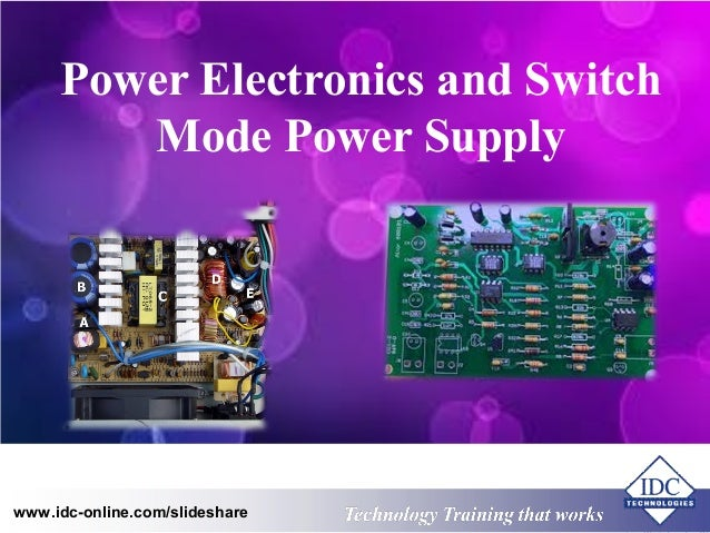 Computer Once Meet A Problem Power Supply Switching Of A Computer