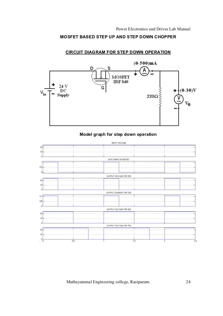 power electronics lab manual for diploma