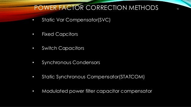 three phase power factor correction pdf free