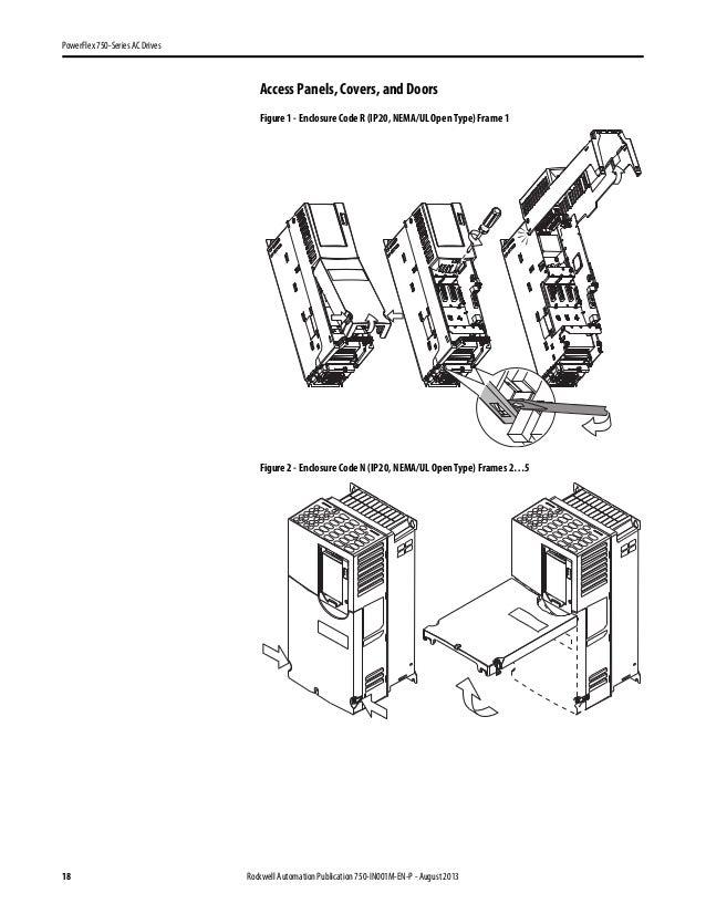 Power flex series 750 installation instruction