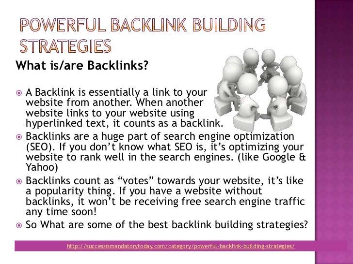 Powerful backlink building_strategy Slide 2