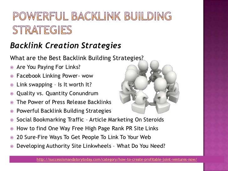 Powerful backlink building_strategy Slide 3