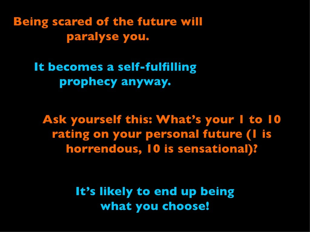 Watch 10. Talking about the future scares you video
