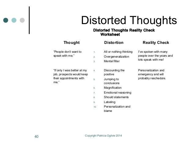 All Worksheets Worksheets On Trust Free Printable Preeschool – Distorted Thinking Worksheets