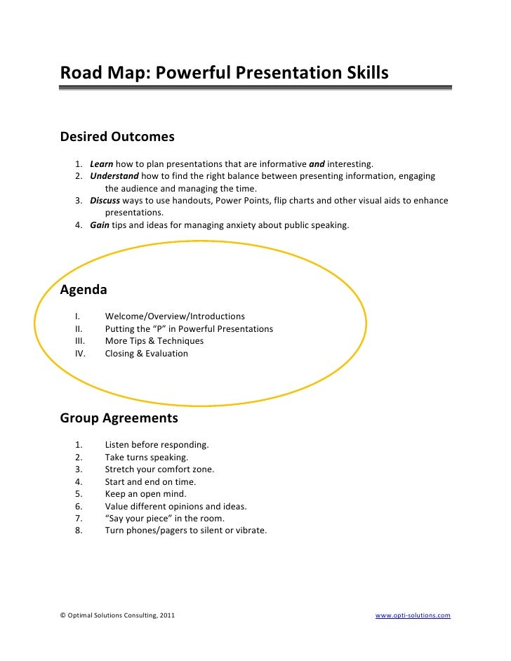 List Of Synonyms And Antonyms Of The Word Presentation Outline