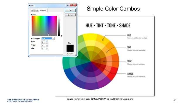 Simple Color Combos Image from Flickr user 124222186@N02 via Creative Commons 43