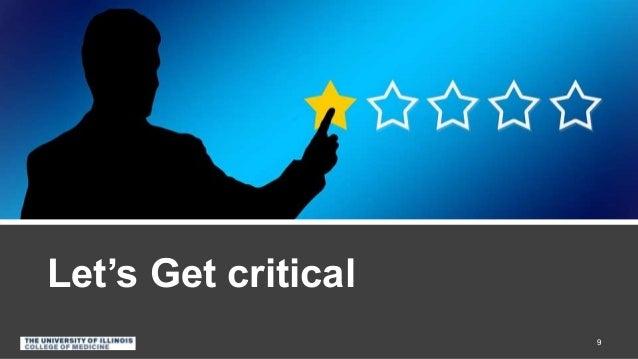 Let's Get critical 9