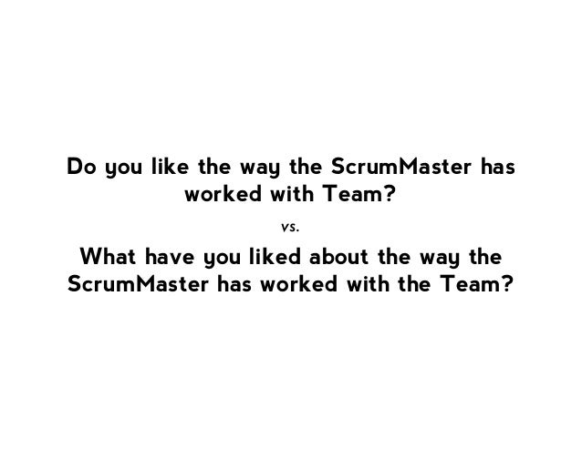 Powerful Questions for the Scrum Professional