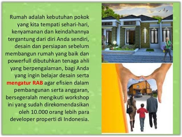 Workshop Powerful Real Estate Effective Design Slide 2