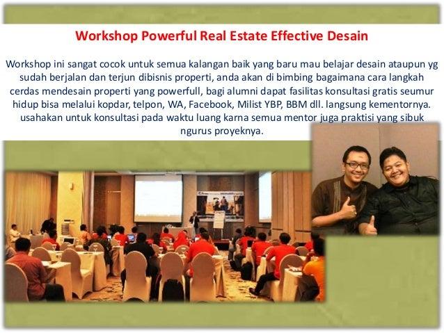 Workshop Powerful Real Estate Effective Design Slide 3