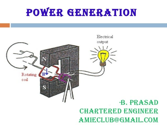 Power generation -B. Prasad Chartered engineer aMieCLUB@gMaiL.CoM