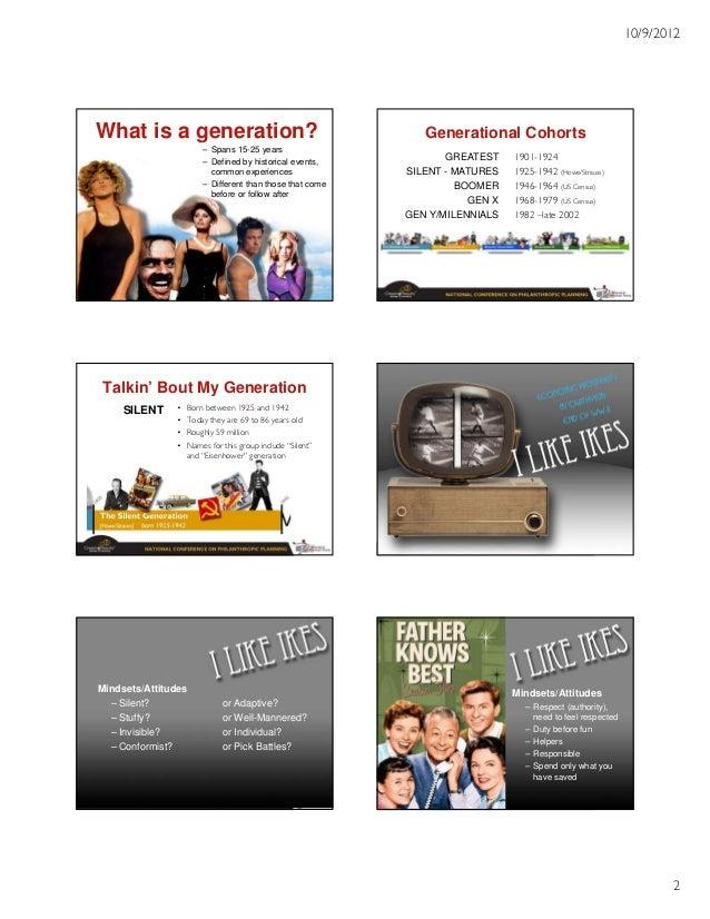 The Power of Generational Marketing Slide 2