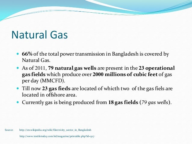 Power Generation And Demand In Bangladesh