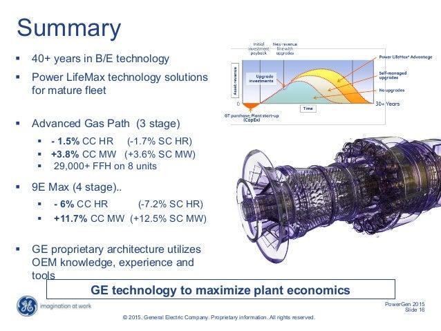 Power LifeMax* - Solutions for B/E Gas Turbine Fleet