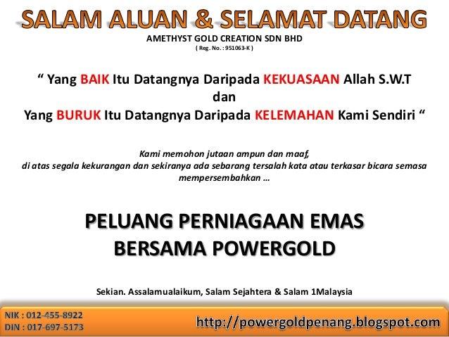 PowerGold Penang - Presentation Slideshow Slide 2