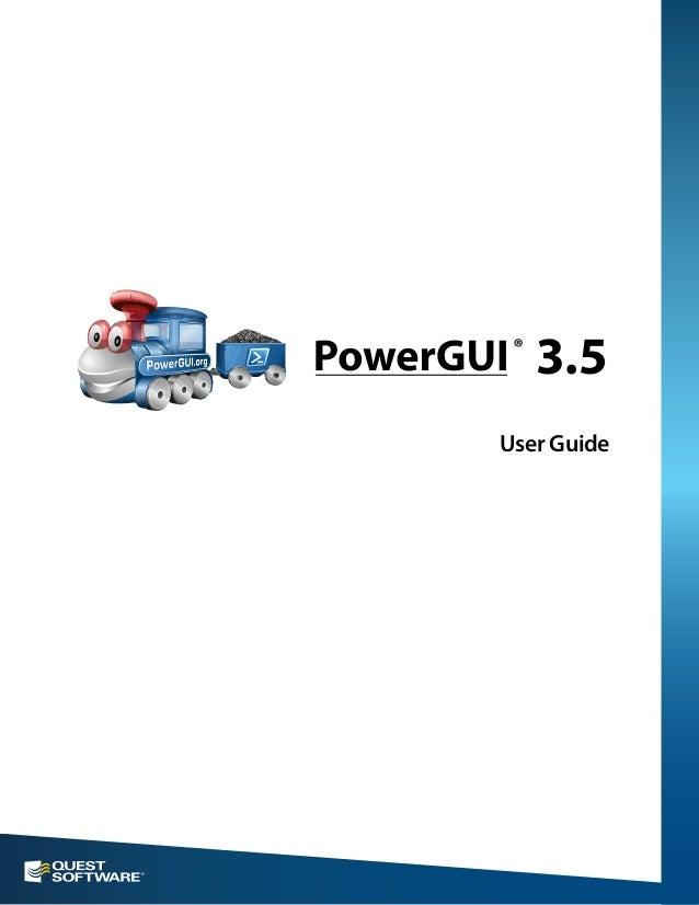 User Guide 3.5