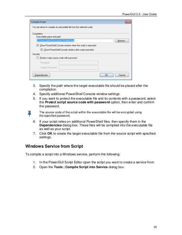 Power gui 3 5_userguide  Powershell for windows