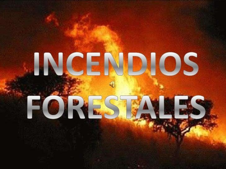 Un incendioforestal es unincendio enel cual elfuego seexpande sincontrolquemandoespecies queno estabandestinadas aarder .