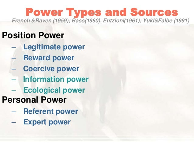 position power and personal power