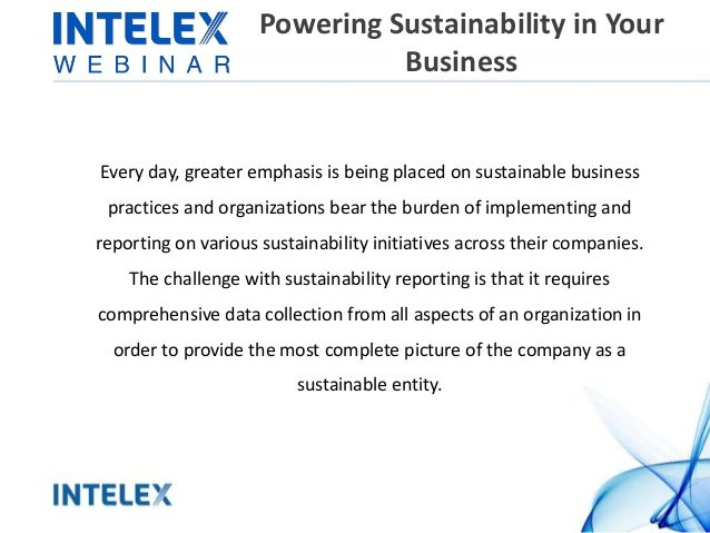Powering Sustainability in Your Business Every day, greater emphasis is being placed on sustainable business practices and...