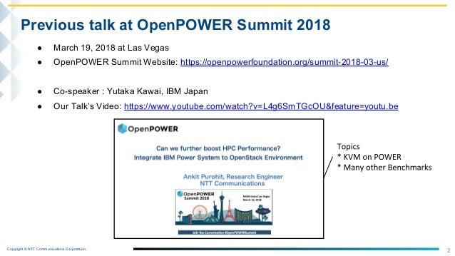 Can we boost more HPC performance? Integrate IBM POWER servers with GPUs to OpenStack Environment Slide 3