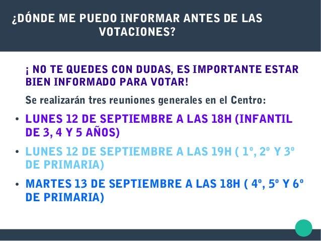 ¿DÓNDE ME PUEDO INFORMAR ANTES DE LAS VOTACIONES? ¡ NO TE QUEDES CON DUDAS, ES IMPORTANTE ESTAR BIEN INFORMADO PARA VOTAR!...