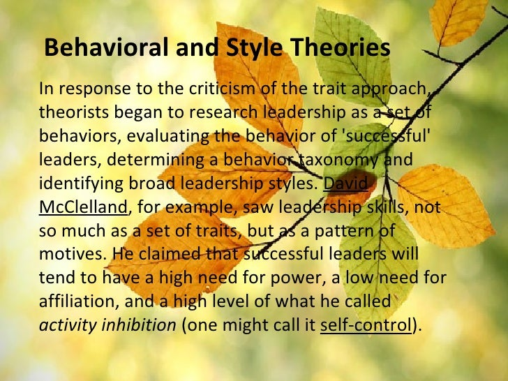 criticism on the concept of leadership Leadership: past, present, and future david v day john antonakis 1  low, we first acquaint readers with the concept of leadership and why leader-ship is necessary.