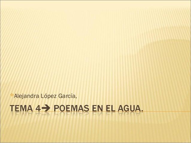 Alejandra López García,