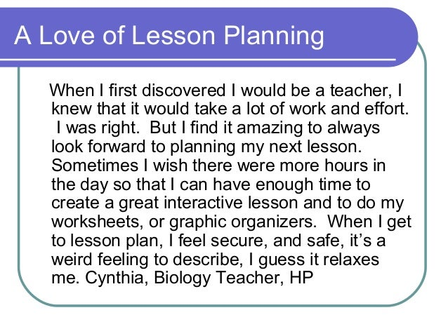 microteach 1 lesson plan essay Reflection on microteaching exercise the effectiveness in practice of what i had intended to do in theory when i wrote the lesson plan up in the first.