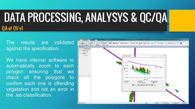 QA of OV v1 The results are validated against the specification. We have internal software to automatically zoom to each p...