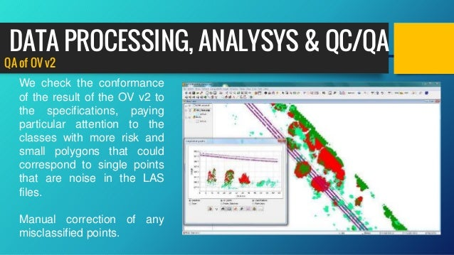 QA of OV v2 We check the conformance of the result of the OV v2 to the specifications, paying particular attention to the ...