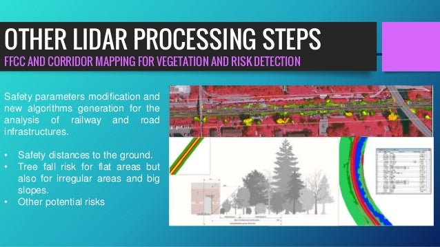 FFCC AND CORRIDOR MAPPING FOR VEGETATION AND RISK DETECTION OTHER LIDAR PROCESSING STEPS Safety parameters modification an...