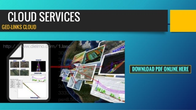 CLOUD SERVICES GEO-LINKS CLOUD DOWNLOAD PDF ONLINE HERE