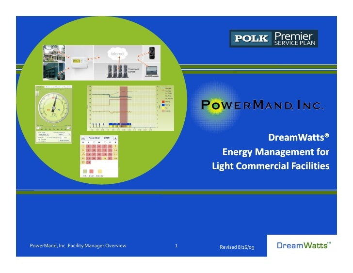 DreamWatts®                                                    Energy Management for                                      ...