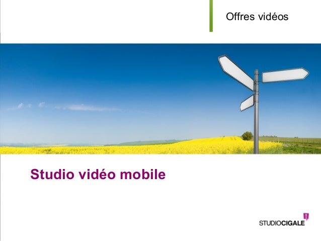 YOUR LOGOStudio vidéo mobileaOffres vidéos