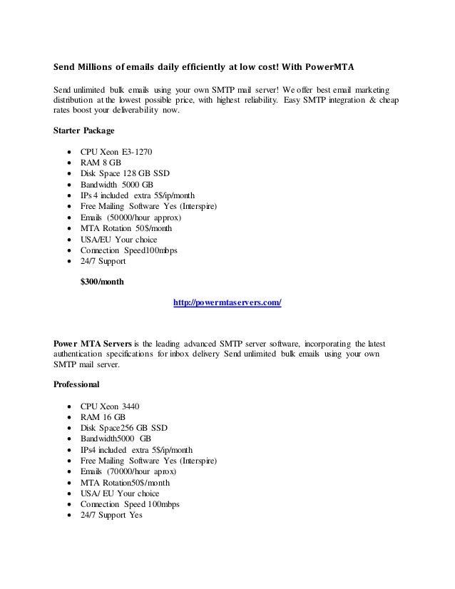 mass mailing | Bulk SMTP Instant, Bulk Email Hosting, High