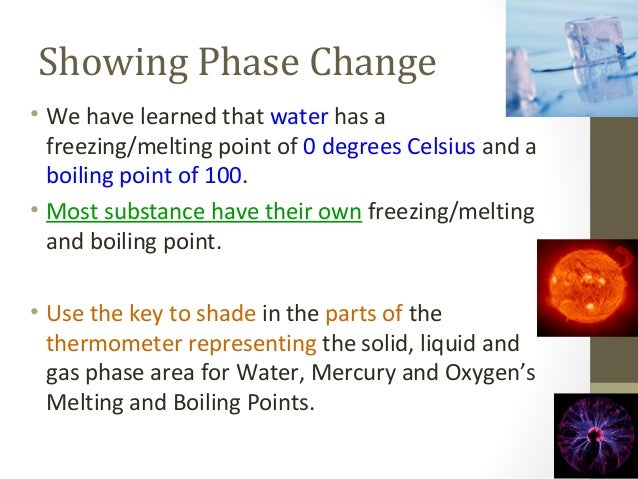 freezing point and melting point Melting vs freezing point matter comes in different states, the distinctive forms and phases that it acquires or assumes it comes in a.