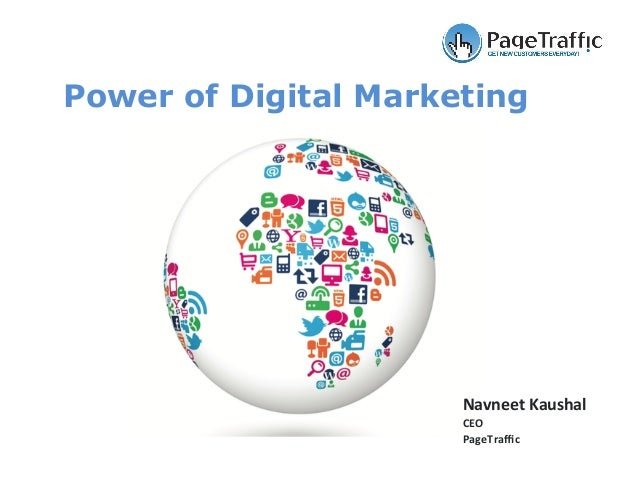 Navneet	Kaushal	 CEO	 PageTraffic	 Power of Digital Marketing