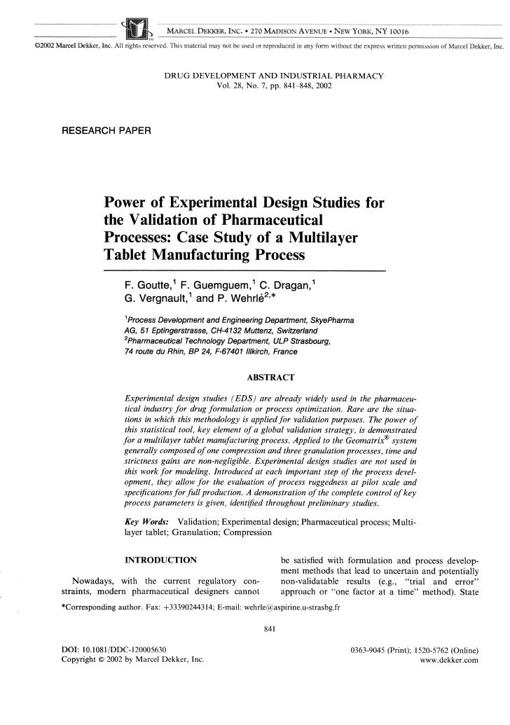 Design and Experimental Validation Study on Direct Power ...