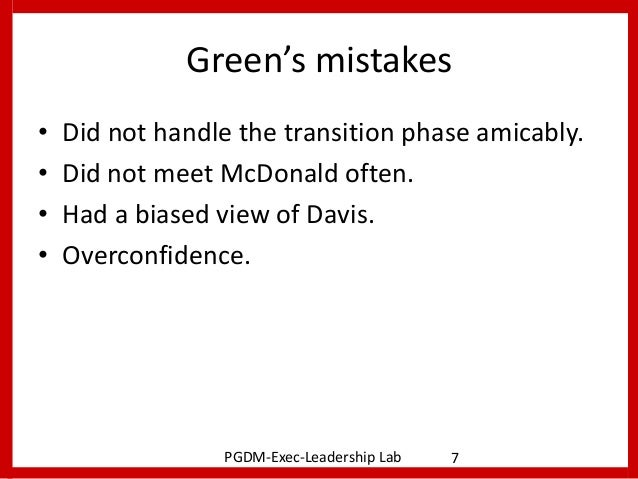 Thomas green and frank davis essay