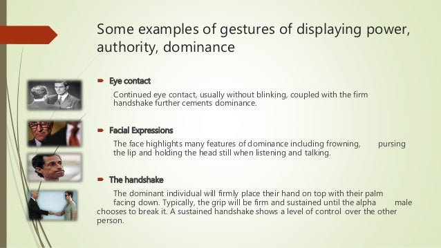 The classification we used to analyze gestures in this research.