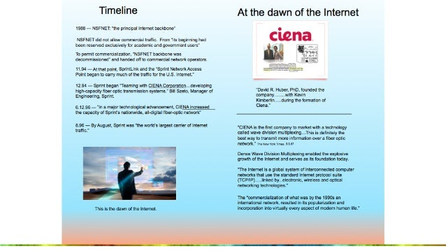 The Dawn of the Internet