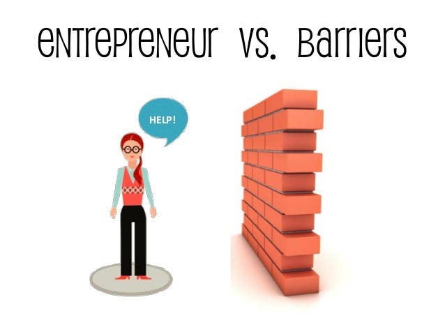 Barriers of entrepreneurship