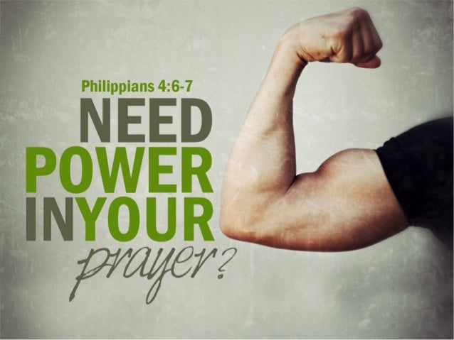 Power of prayer (Autumn 2012)