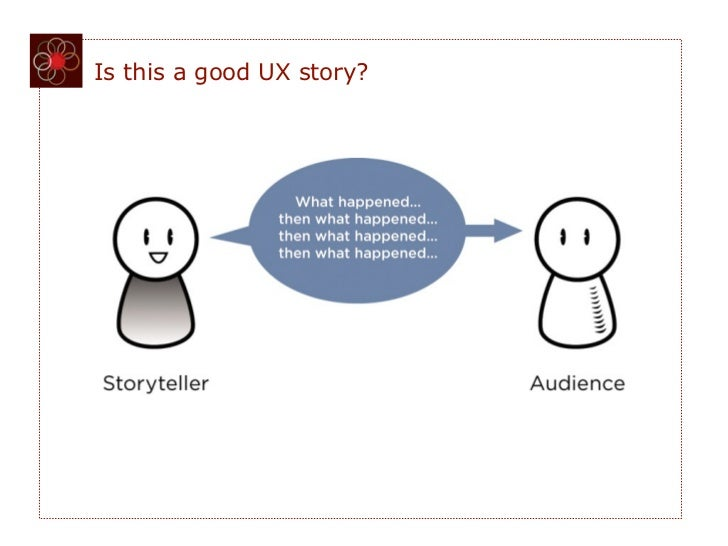 Is this a good UX story?