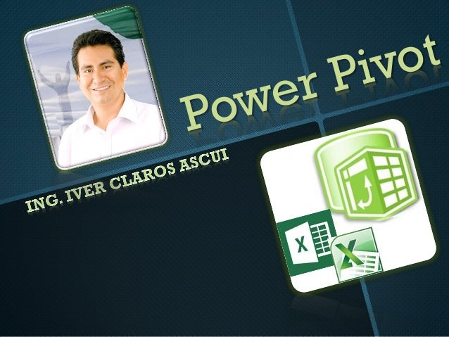 PowerPivot para Excel es un complemento que puede usar para realizar eficaces análisis de datos en Excel 2010, al tiempo q...