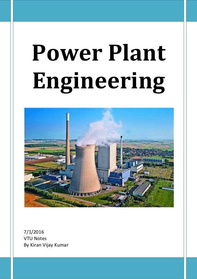 Power Plant Book Pdf